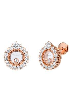 Женские серьги CHOPARD розового золота цвета, арт. 839466-5001 | Фото 1