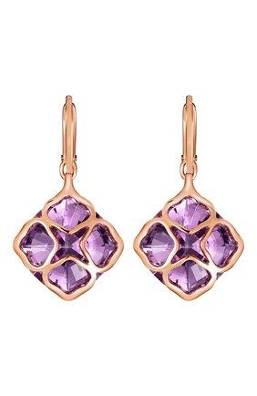 Женские серьги CHOPARD розового золота цвета, арт. 839563-5002 | Фото 1