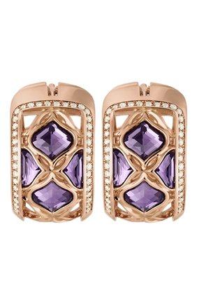 Женские серьги CHOPARD розового золота цвета, арт. 839564-5001 | Фото 1