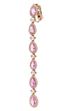Женские серьги CHOPARD розового золота цвета, арт. 840416-5002 | Фото 2