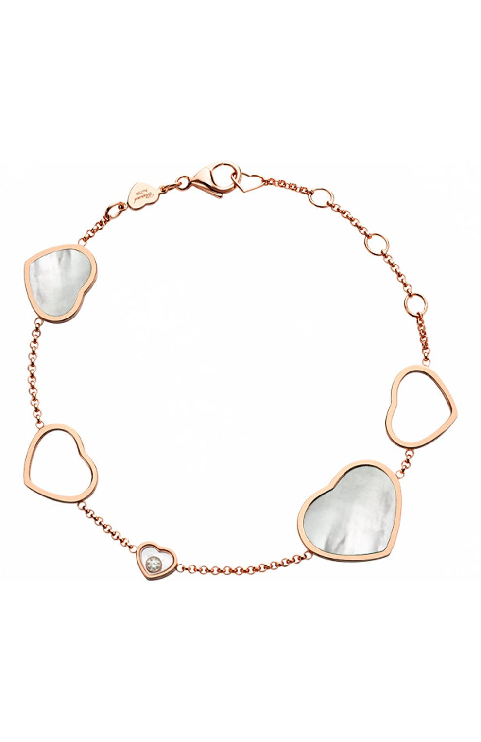 Женские браслет CHOPARD розового золота цвета, арт. 857482-5031   Фото 1