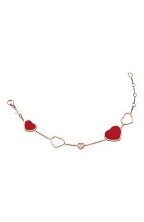 Женский браслет CHOPARD розового золота цвета, арт. 857482-5081 | Фото 2
