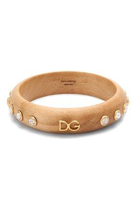 Женская браслет DOLCE & GABBANA бежевого цвета, арт. WBM4L2/W1111 | Фото 1