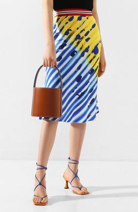 Женская сумка bissett  STAUD коричневого цвета, арт. 07-9000 | Фото 2