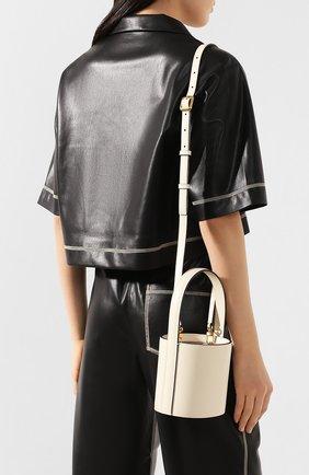 Женская сумка bisset mini STAUD кремвого цвета, арт. 07-9115 | Фото 2