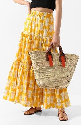 Женская сумка-шопер senallo HEREU разноцветного цвета, арт. SENALL0/MBR20SENA001 | Фото 2