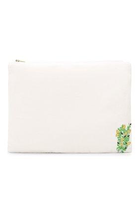 Женская набор из пяти косметичек KILOMETRE PARIS белого цвета, арт. 15A-TRAVEL BAGS SET AMERICAN T0UR | Фото 2