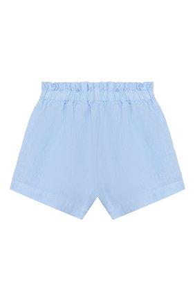 Детские льняные шорты IL GUFO голубого цвета, арт. P20PS063L6009/2A-4A | Фото 2