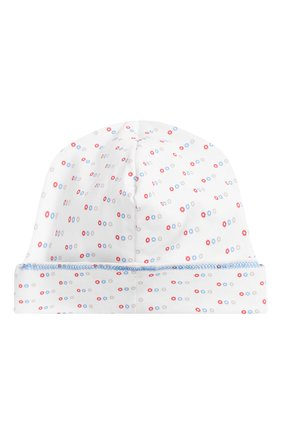 Детского хлопковая шапка MAGNOLIA BABY голубого цвета, арт. 896-50-LB | Фото 2