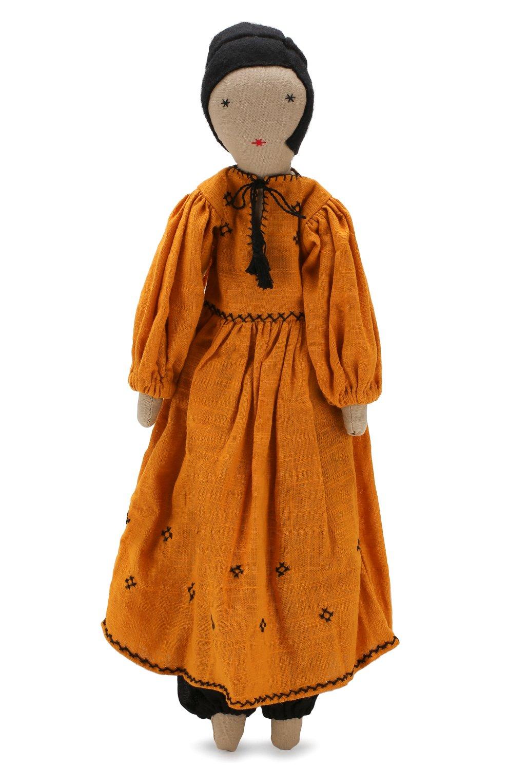 Детского кукла KILOMETRE PARIS желтого цвета, арт. D0LL-NARGIS | Фото 1