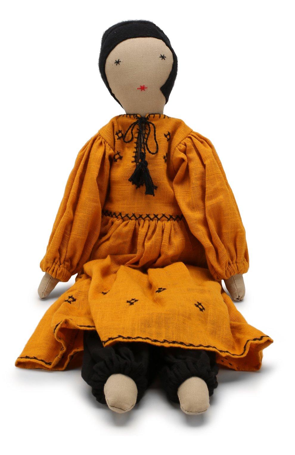 Детского кукла KILOMETRE PARIS желтого цвета, арт. D0LL-NARGIS | Фото 2