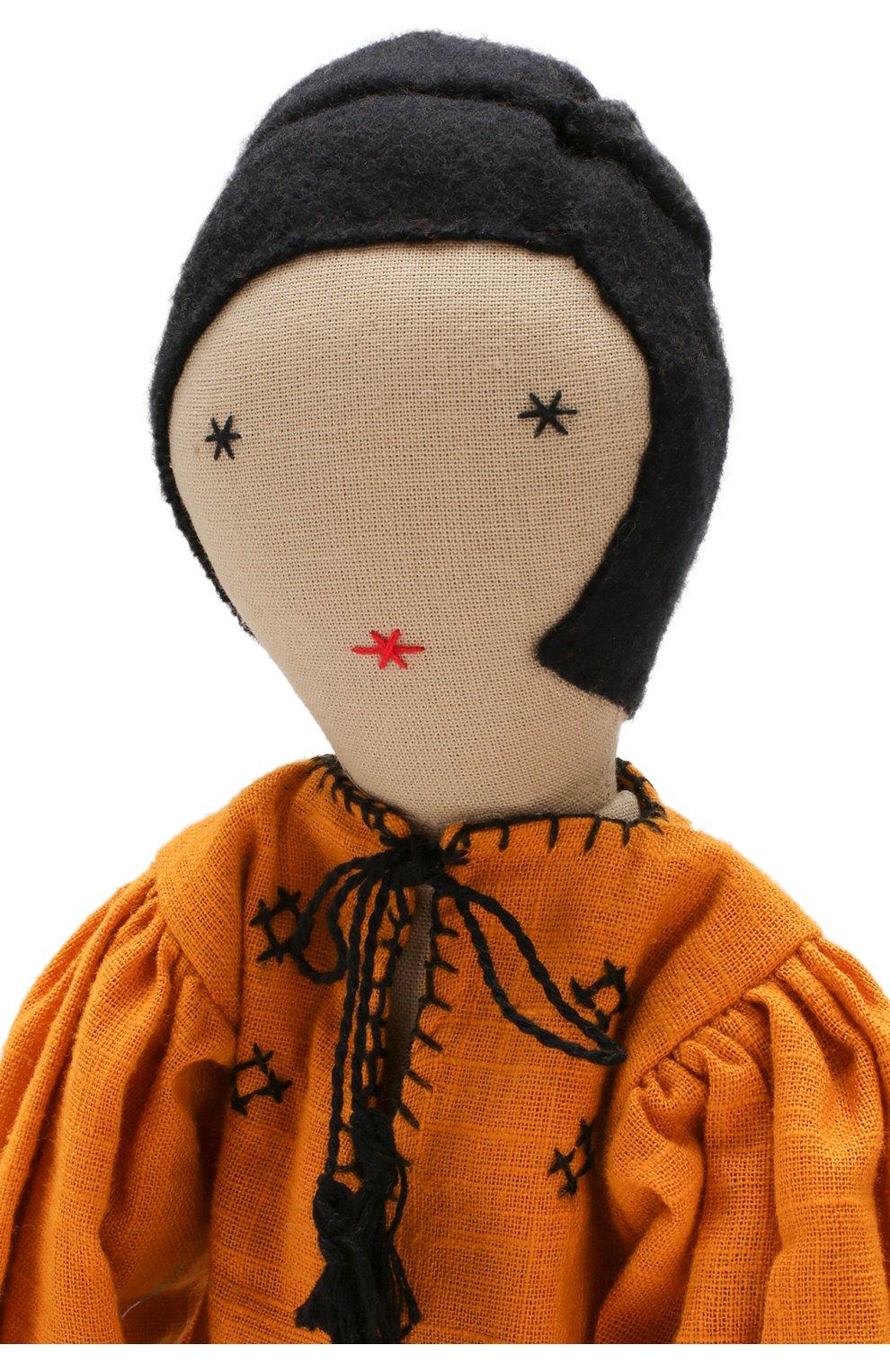 Детского кукла KILOMETRE PARIS желтого цвета, арт. D0LL-NARGIS | Фото 3