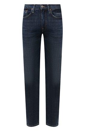 Мужские джинсы POLO RALPH LAUREN синего цвета, арт. 710802080 | Фото 1