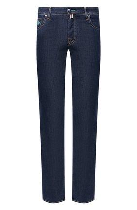 Мужские джинсы VILEBREQUIN темно-синего цвета, арт. VBMP0002-00517-W1 | Фото 1