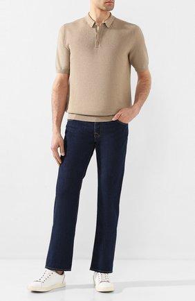 Мужские джинсы VILEBREQUIN темно-синего цвета, арт. VBMP0002-00517-W1 | Фото 2