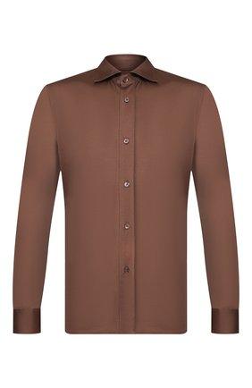 Мужская рубашка TOM FORD коричневого цвета, арт. BU248/TFJ941 | Фото 1