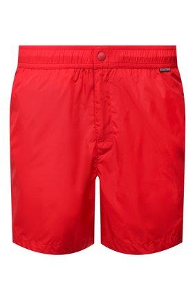 Детского плавки-шорты RALPH LAUREN красного цвета, арт. 790790022   Фото 1
