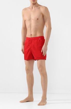 Детского плавки-шорты RALPH LAUREN красного цвета, арт. 790790022   Фото 2