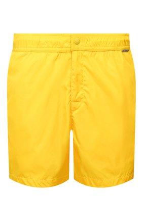 Детского плавки-шорты RALPH LAUREN желтого цвета, арт. 790790022   Фото 1