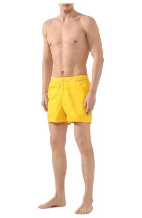 Детского плавки-шорты RALPH LAUREN желтого цвета, арт. 790790022 | Фото 2