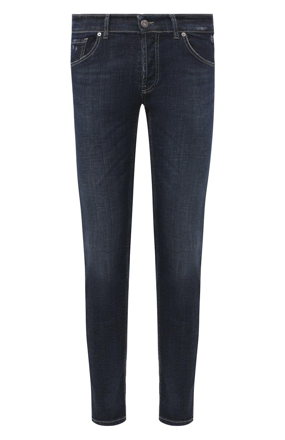 Мужские джинсы PREMIUM MOOD DENIM SUPERIOR темно-синего цвета, арт. S20 0310340011/PAUL | Фото 1