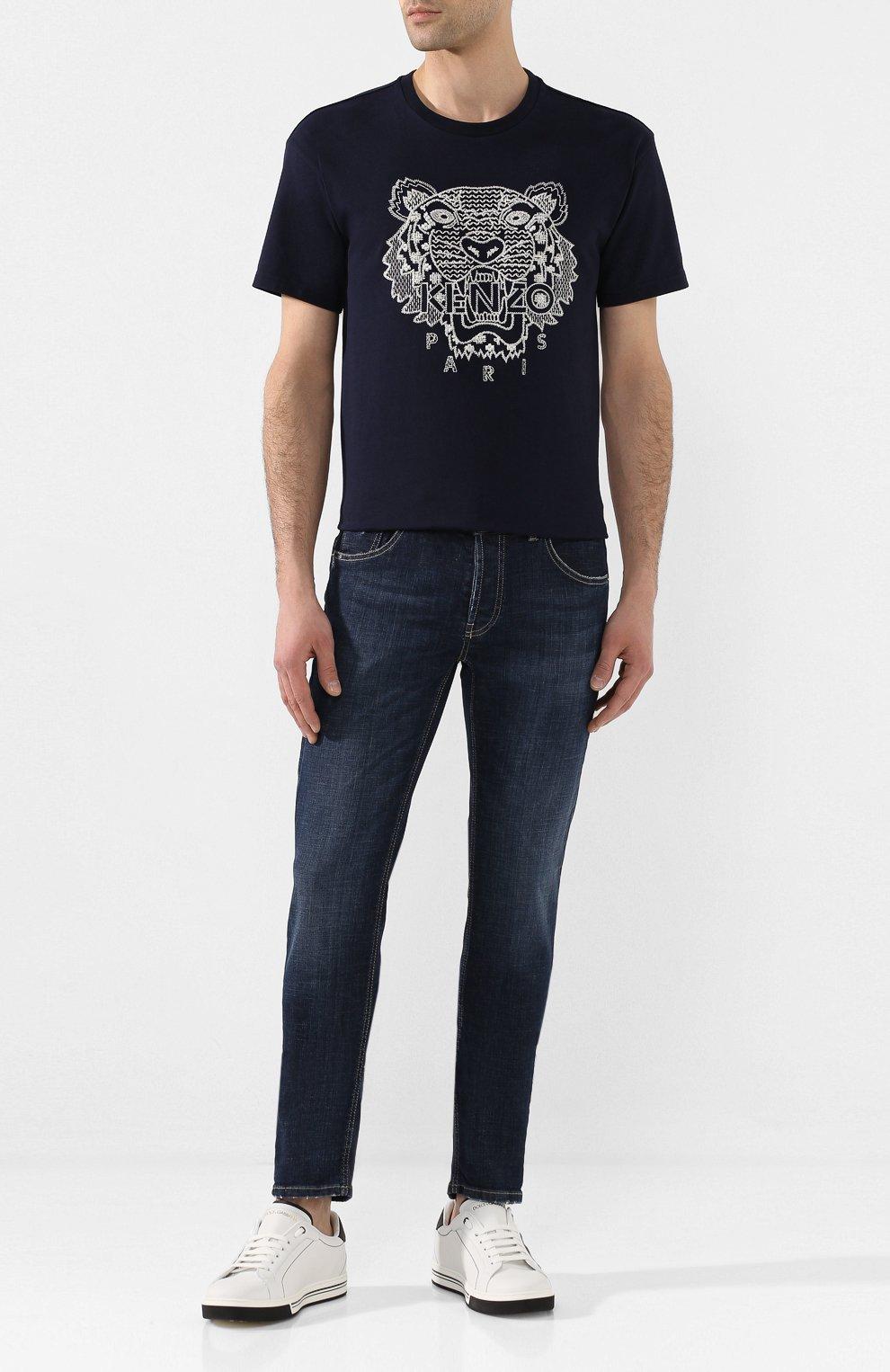 Мужские джинсы PREMIUM MOOD DENIM SUPERIOR темно-синего цвета, арт. S20 0310340011/PAUL | Фото 2