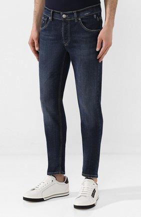 Мужские джинсы PREMIUM MOOD DENIM SUPERIOR темно-синего цвета, арт. S20 0310340011/PAUL | Фото 3