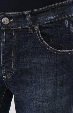 Мужские джинсы PREMIUM MOOD DENIM SUPERIOR темно-синего цвета, арт. S20 0310340011/PAUL | Фото 5