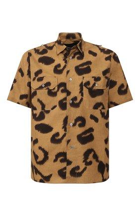 Мужская хлопковая рубашка STELLA MCCARTNEY бежевого цвета, арт. 598690/S0N18 | Фото 1