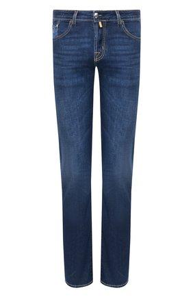 Мужские джинсы JACOB COHEN темно-синего цвета, арт. J620 C0MF 00919-W1/53 | Фото 1