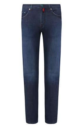 Мужские джинсы KITON темно-синего цвета, арт. UPNJS1/J07S33 | Фото 1