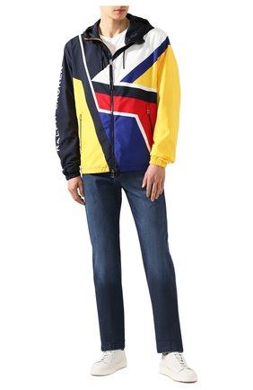 Мужские джинсы KITON темно-синего цвета, арт. UPNJS1/J07S33 | Фото 2
