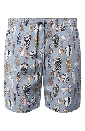 Детского плавки-шорты DOLCE & GABBANA голубого цвета, арт. M4A13T/HSM2P | Фото 1