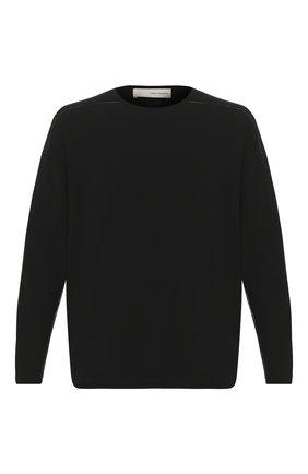 Мужской джемпер ISABEL BENENATO черного цвета, арт. UK32S20 | Фото 1