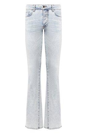 Мужские джинсы AMIRI голубого цвета, арт. Y0M01409SD | Фото 1