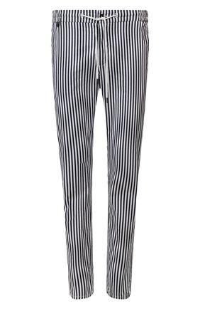 Мужской хлопковые брюки BERWICH синего цвета, арт. SPIAGGIA/PU0839X | Фото 1