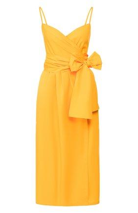 Женское хлопковое платье THREE GRACES желтого цвета, арт. TGL DR6078   Фото 1