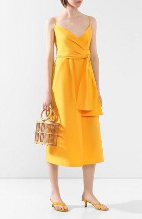 Женское хлопковое платье THREE GRACES желтого цвета, арт. TGL DR6078   Фото 2