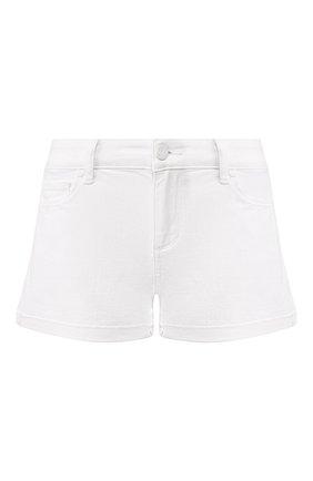 Женские джинсовые шорты PAIGE белого цвета, арт. 4281B58-4520 | Фото 1
