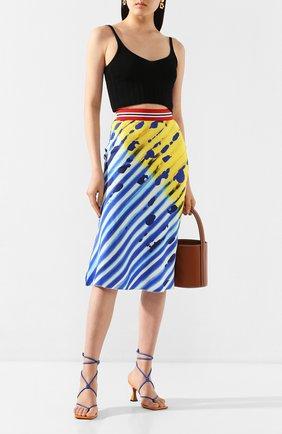 Женская юбка из вискозы STELLA JEAN разноцветного цвета, арт. 20E/J/DR/G007/2711 | Фото 2