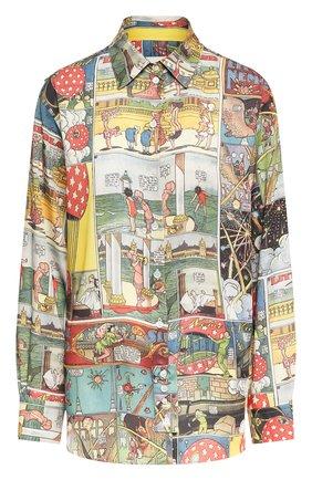 Женская рубашка LANVIN разноцветного цвета, арт. RW-T0670I-4561-E20 | Фото 1