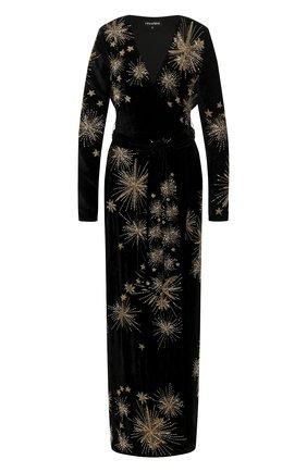 Женское платье-макси RETROFÊTE черного цвета, арт. HL20-2442   Фото 1