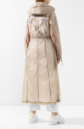 Женский плащ OFF-WHITE бежевого цвета, арт. 0WEA202S20FAB0016145 | Фото 4