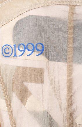 Женский плащ OFF-WHITE бежевого цвета, арт. 0WEA202S20FAB0016145 | Фото 5
