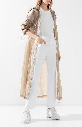 Женские джинсы OFF-WHITE белого цвета, арт. 0WYA012S20DEN0040100   Фото 2