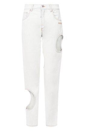 Женские джинсы OFF-WHITE голубого цвета, арт. 0WYA018S20DEN0014000 | Фото 1