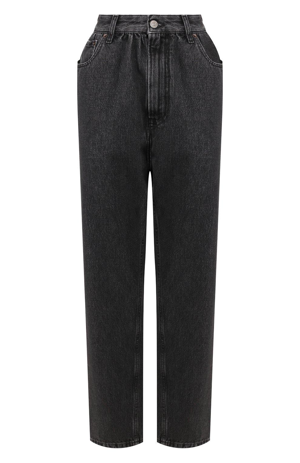 Женские джинсы MM6 серого цвета, арт. S32LA0209/S30652 | Фото 1