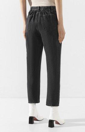 Женские джинсы MM6 серого цвета, арт. S32LA0209/S30652 | Фото 4