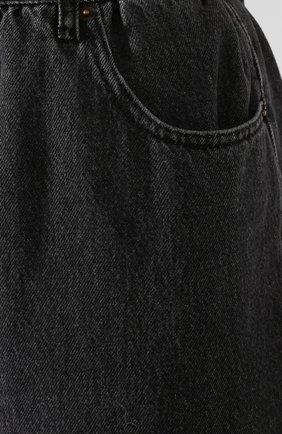 Женские джинсы MM6 серого цвета, арт. S32LA0209/S30652 | Фото 5
