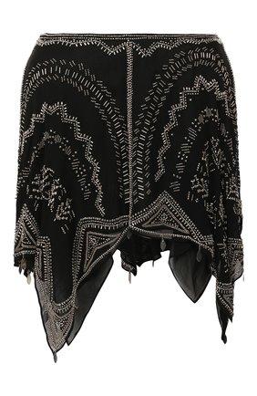 Женская шелковая юбка ISABEL MARANT черного цвета, арт. JU1151-20E046I/JUNC0 | Фото 1